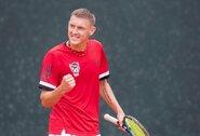 T.Babelis su partneriu žengė į pusfinalį ir sutiks garsiausius Estijos tenisininkus
