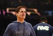 """M.Cubanas: """"NBA prieš pratęsdama sezoną laukia, kol žmonėms netrūks testų"""""""