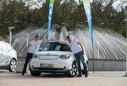 Elektromobilių varžybose 500 km bandys įveikti nesustoję