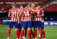 """""""Atletico"""" sutriuškino """"La Liga"""" autsaiderius"""