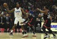 """""""Clippers"""" paskutiniame kėlinyje palaužė """"Raptors"""""""