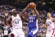 """Trečiosios žvaigždės ieškanti """"Rockets"""" nusitaikė į J.Butlerį"""