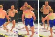 Kraupu: australui MMA narve lūžo koja, sportininkas 3 mėnesius negalės vaikščioti