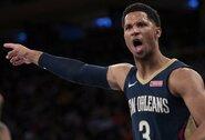 """""""Pelicans"""" krepšininkas netiki NBA sezono pratęsimu"""
