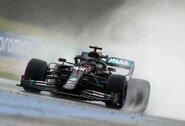 Šlapioje Štirijos GP kvalifikacijoje – pribloškiantis L.Hamiltono dominavimas