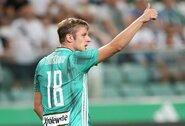 """A.Novikovas negalės pagelbėti """"Legia"""" komandai dar bent mėnesį"""
