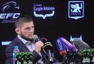 Ch.Nurmagomedovas: apie 100 mln. JAV dolerių už 30-ąją kovą, susitikimą sausį su C.McGregoru ir norą paversti MMA olimpiniu sportu