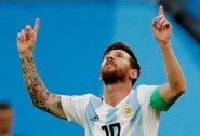 """Argentinos iškovotu bilietu į ketvirtfinalį džiaugęsis L.Messi: """"Ši pergalė turi mums padėti užaugti kaip komandai"""""""