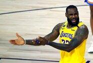 """Tragiškai puolusi """"Lakers"""" patyrė pralaimėjimą"""