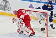 """KHL """"Visų žvaigždžių"""" finalinių rungtynių nugalėtojai paaiškėjo tik po baudinių serijos"""