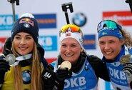 Prestižinėse pasaulio čempionato lenktynėse – nervingas šaudymas ir norvegės triumfas