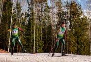 Lietuvos biatlonininkės liko už persekiojimo lenktynių borto, H.Oeberg šventė dar vieną pergalę