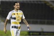 Karantino metu bare šėlęs Serbijos futbolininkas – areštuotas