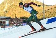 Pasaulio biatlono taurės estafetėje lietuviai pranoko kitas Baltijos šalių rinktines