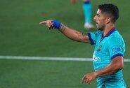"""L.Suarezas apie kovą dėl """"La Liga"""" titulo: """"Barcelona"""" turi būti pasiruošusi, jei sulauks """"Real"""" kluptelėjimo"""""""
