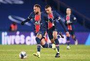 """""""Real"""" galvos skausmas: PSG siūlo K.Mbappe brazilo Neymaro algą"""