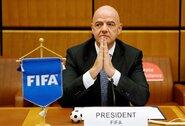 Koronavirusu užsikrėtė ir FIFA prezidentas