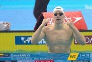 Neįtikėtina: D.Rapšys pasiekė 6 metus neregėtą rezultatą ir plaukė greičiau nei skandalingame pasaulio čempionato finale!