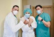 """Dvi operacijas vienu metu ištvėręs B.Vanagas: """"Kaip sakė A.Sabonis, po 50-ties metų baigiasi garantija"""""""