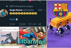 """Geriausi internautų pokštai po """"Bayern"""" ir """"Barcelonos"""" rungtynių"""