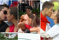 Futbolo donžuanas: atskleistas C.Ronaldo romanas su K.Kardashian