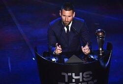 Geriausio metų žaidėjo rinkimai: L.Messi į trejetą įtraukė C.Ronaldo, bet C.Ronaldo L.Messi – ne