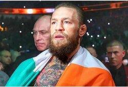 C.McGregoras paaiškino, kodėl tarp geriausių kovotojų neįtraukė legendinio čempiono