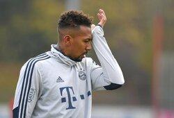 """""""Bayern"""" gynėjas slidžiame kelyje pateko į autoavariją"""