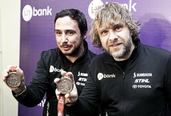 """Į Lietuvą sugrįžęs B.Vanagas: apie kiekvieną centą atidirbusį šturmaną F.Palmeiro, ramiausią visų laikų Dakarą, tekančią seilę žiūrint į gamyklines komandas, """"katorgėlę"""" Dakare ir sunkumus su pinigais"""