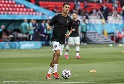 C.Ronaldo pagerino dar vieną rekordą – to Europos čempionatuose dar niekas nėra padaręs