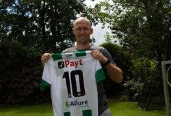 Oficialu: A.Robbenas sugrįžta į didįjį futbolą