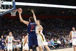 Rungtynių pabaigoje subyrėję lietuviai patyrė nesėkmę Serbijoje