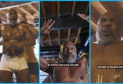 """M.Tysonas prieš sugrįžimą atlieka specialią terapiją: """"Kitaip mano sąnariai subyrėtų"""""""