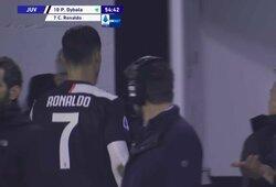 """A.Cassano perspėjo C.Ronaldo: """"Už tokį elgesį dopingo kontrolieriai man grasino 2 metų diskvalifikacija"""""""