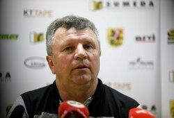 """V.Čeburinas laukia naujo iššūkio Vengrijoje: """"Suprantame, kad mums reikės gero rezultato išvykoje"""""""
