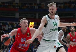 CSKA atleido vilčių nepateisinusį NBA žaidėją