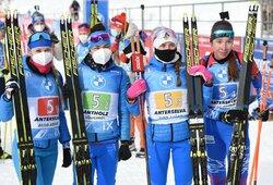 Pasaulio biatlono taurės etapas baigėsi rusių ir J.T.Boe pergalėmis