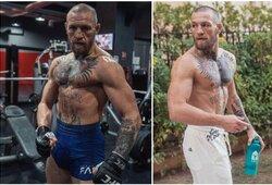 """C.McGregoras: """"Aš vis dar čempionas, Chabibas pabėgo iš narvo ir diržas jam nebuvo įteiktas"""""""