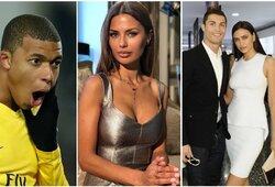 Rusijos žvaigždė: apie bučinius su nepilnamečiu K.Mbappe, suvaidintą C.Ronaldo romaną ir didžiausią Neymaro problemą