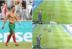 Įspūdingas sprintas, pasibaigęs įvarčiu: paskaičiuota, kokį greitį C.Ronaldo išvystė prieš vokiečius