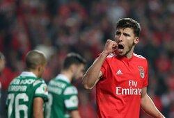 """""""Man City"""" už 68 mln. eurų įsigijo """"Benficos"""" gynėją ir atsisveikino su N.Otamendi"""