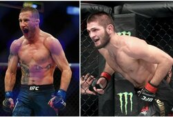 Ch.Nurmagomedovas ar J.Gaethje? M.Bukauskas ir kiti UFC kovotojai pateikė savo prognozes