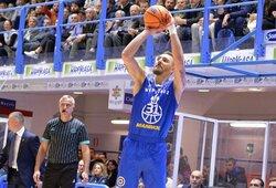 """Antroje rungtynių dalyje subyrėjęs """"Neptūnas"""" patyrė Italijoje pralaimėjimą"""