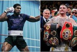 A.Ruizas ar A.Joshua? D.Wilderis, T.Fury, M.Tysonas ir kiti pateikė savo prognozes prieš didžiąją kovą