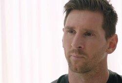 """L.Messi nutraukė tylą ir pranešė liekantis """"Barcelonoje"""": paaiškino, kodėl nori išvykti ir pateikė kaltinimus klubo prezidentui"""