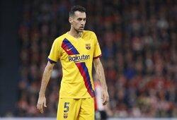 """S.Busquetsas nusivylęs """"Barcelona"""" sudėtimi: """"Gaila, bet viskas būtent taip ir buvo suplanuota"""""""