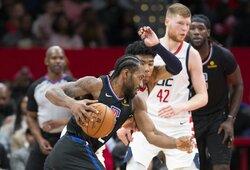 """Žvaigždžių vedama """"Clippers"""" laimėjo prieš latvio tempiamą klubą"""