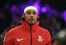 C.Anthony grįžta į NBA