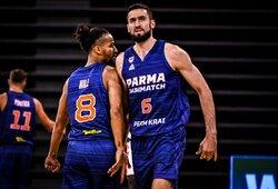 K.Maksvyčio auklėtiniai iškopė į finalinį FIBA Čempionų lygos atrankos etapą