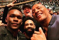 I.Adesanya paaiškino, kodėl UFC nenori jo ir Y.Romero kovos
